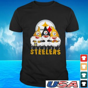 Gnomes Pittsburgh Steelers Merry Christmas t-shirt