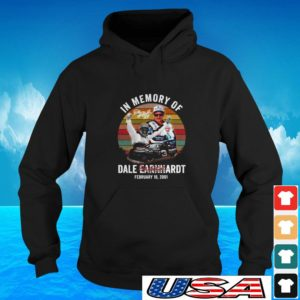 In memory of Dale Earnhardt February 18 2001 signature hoodie