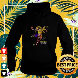 Los Angeles Lakers King James all star 2019 signature hoodie