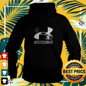 United Steelworkers Unity And Strength For Workers Flag hoodie