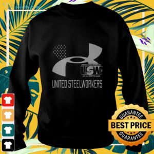 United Steelworkers Unity And Strength For Workers Flag sweater
