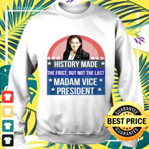 Kamala Harris history made the first but not the last madam vice president sweater