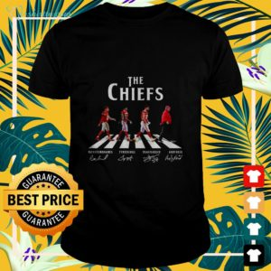 The Chiefs Abbey Road signatures t-shirt